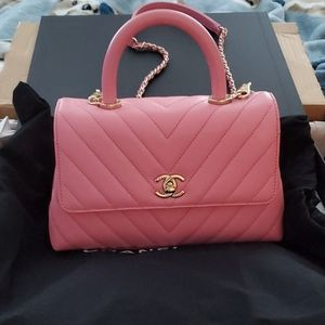 🥳HOST PICK🥳CHANEL COCO IN PINK BNWT